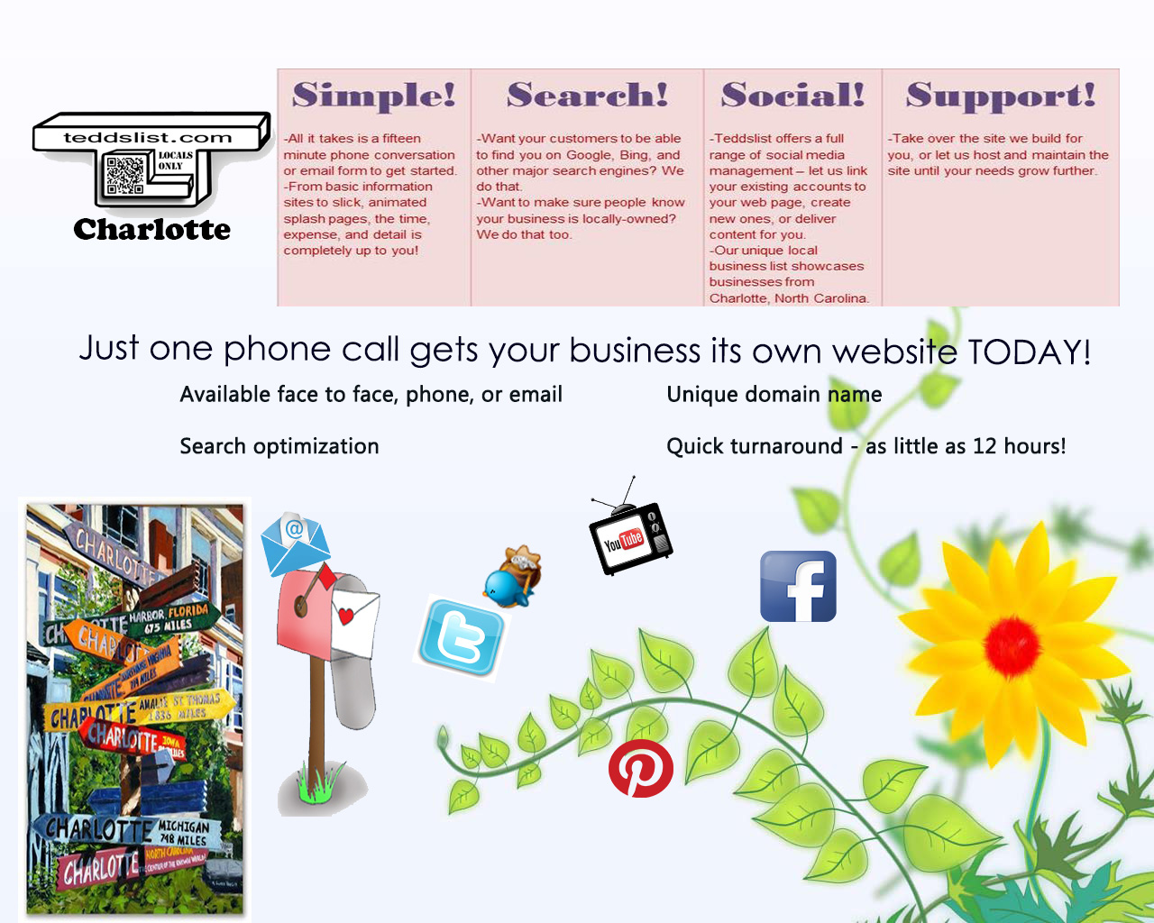 local business microsite